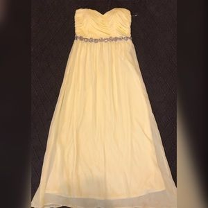 Charlotte Russe Yellow Gown